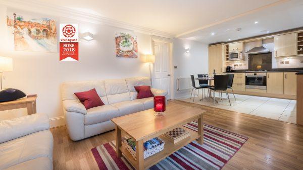 3 Herschel Place Living Area Rose Award